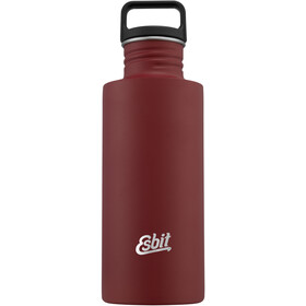 Esbit Sculptor Drinking Bottle 750ml burgundy red